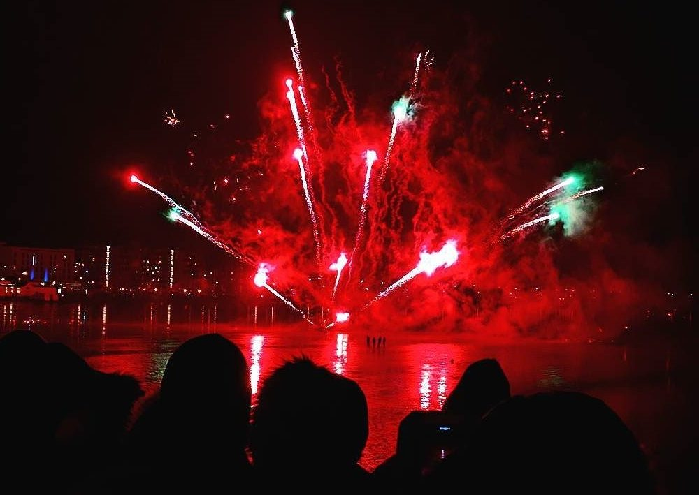 Weston-Super-Mare Fireworks On The Pier
